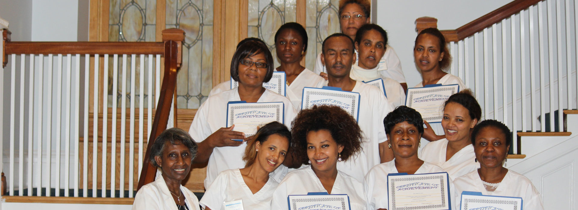nurses and their certificates